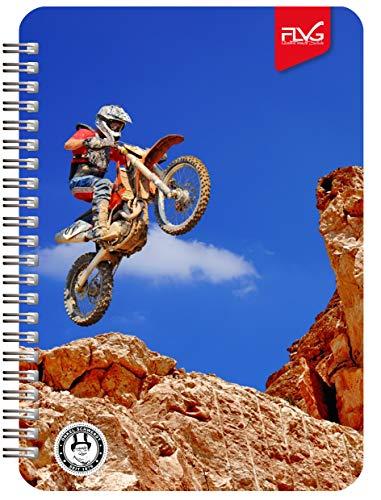 FLVG A5 Gymnasial-, Schul- und Studienplaner 2020/2021 Schulplaner – Schülerkalender Motorcross Sonderedition von Onkel Schwerdt
