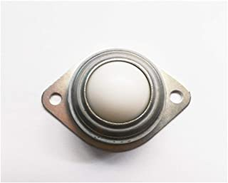 5PCS / LOT CY-12a 12mm Ball Bearing Rollerl Carbon Steel Flens POM kogeltransfereenheid Furniture Caster Wheel Conveyor Ro...