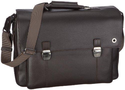 Montblanc Soft Leather Range Aktentasche No. 103882 103882 Unisex - Erwachsene Aktentaschen, NA schwarz (NA)