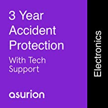 ASURION 3 Year Portable Electronic Accident Protection Plan with Tech Support $250-299.99