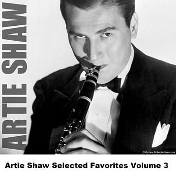 Artie Shaw Selected Favorites, Vol. 3