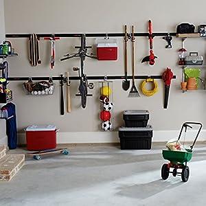 Rubbermaid FastTrack Garage Organization System, Vertical Bike Hook