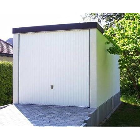 Garaje para el coche prefabricado de máxima calidad 2,58 m X 5,85 mx 2,35 m pared lisa enlucida