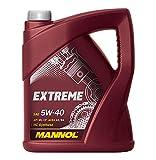 MANNOL Motorenöl Extreme 5W-40 API SN/CF , 5 Liter