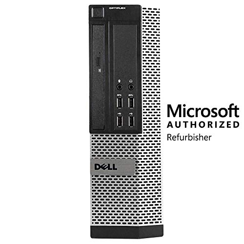 Dell Optiplex 790 SFF Computer, Intel Core i5 3.1 GHz, 16 GB RAM, 1 TB HDD, DVD-RW, Windows 10 Pro (Renewed)