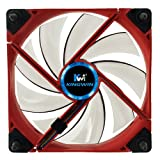 Kingwin Duro Bearing Silent Series 120 mm x 120 mm Case Fan with White LED Cooling - DB-122