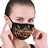 Unisex Fashion Anti-Staub Harley Davidson Face Mouth