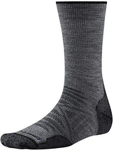 Smartwool PhD Outdoor Light Crew Medium Gray L (EU 42-45)