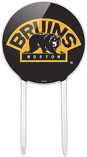 GRAPHICS & MORE Acrylic NHL Boston Bruins Logo Cake Topper Party Decoration for Wedding Anniversary Birthday Graduation