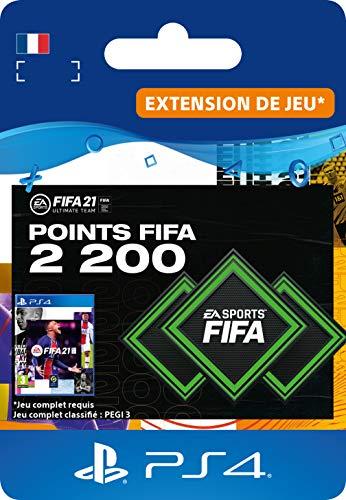 FIFA 21 Ultimate Team 2200 FIFA Points - Code PS4 (Version PS5 incluse) | Jeu à télécharger - Compte français