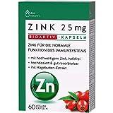 Cinc 25 mg cápsulas bioactivas, 28,8 g.