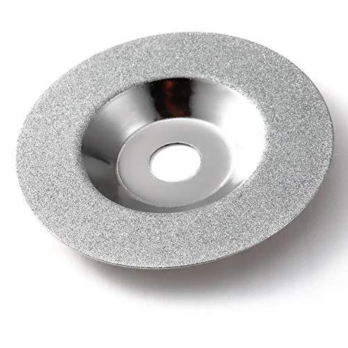 XKMY 100 mm oro diamante titanio muela pulido disco almohadillas amoladora ángulo taza amoladora herramienta rotativa moler piedra vidrio