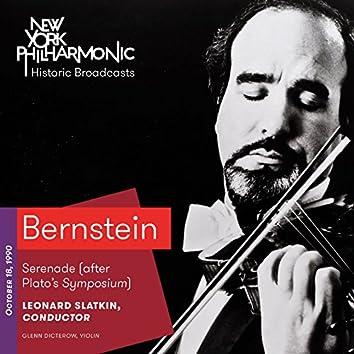 Bernstein: Serenade (after Plato's Symposium) (Recorded 1990)