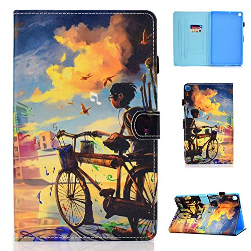 Funda para Samsung Galaxy Tab S6 Lite 10.4'' 2020 Cuero PU Carcasa SM-P610 / P615 Ligera Protector de Cartera Smart Cover Flip Caso con Función de Soporte para Galaxy Tab S6 Lite 10.4 Pulgada