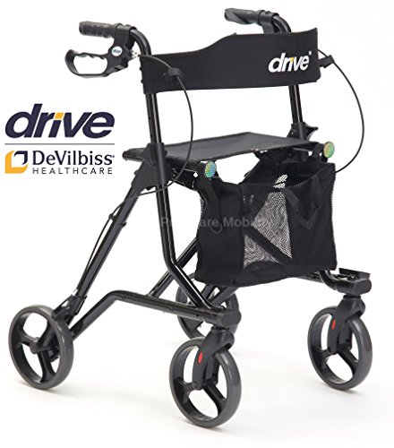 Torro Rollator 4 Wheel Walking Aid met Stoel