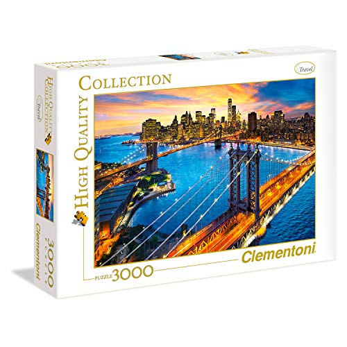 "Clementoni 33546"" New York 3000 Teile Puzzle-High Quality Collection"