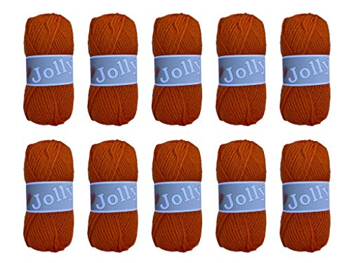 10 ovillos de lana gruesa para agujas de 50 g para tejer...