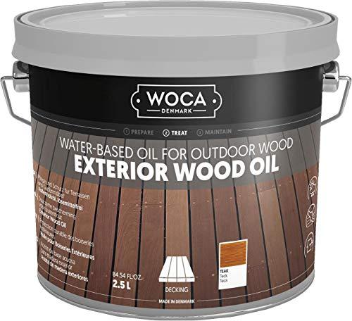 Woca Exterior olio, 2,5l, Teak, 617958a