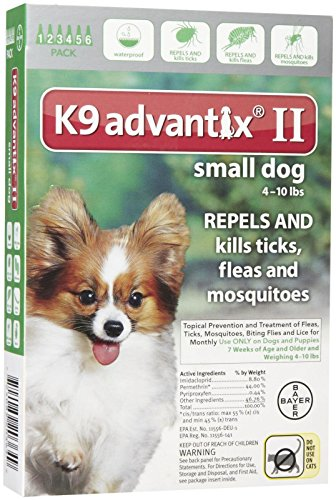 K9 Advantix II Small Dog 6-Pack