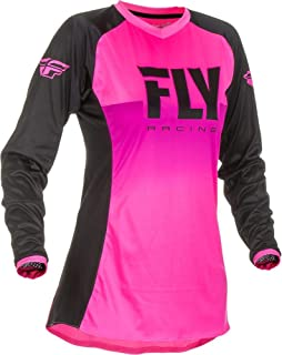 Fly Racing 2019 Women's Lite Jersey (Medium) (NEON Pink/Black)