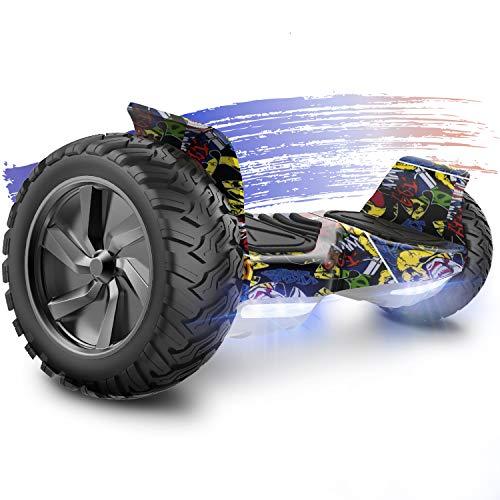FUNDOT Hoverboards,Hoverboards Todo Terreno,Patinete Eléctrico Autoequilibrante de 8.9