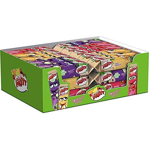 30 x Fritt Fritt Smoothie Style 30 x 70g drei leckeren Kokos Maracuja, Apfel Johannisbeere und Erdbeer Himbeer Sorten