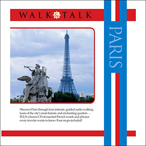 Walk and Talk Paris audiobook cover art
