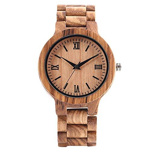 Armbanduhr Uhr Uhren Armbanduhr Armbanduhren Naturholz Bambusuhr Männer Handgefertigt Vollholz Kreative Frauenuhren 2020 Quarzuhr