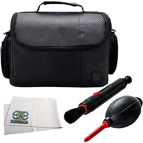 SSE Advanced Accessory Kit for Galaxy Gear VR. Includes Large Carrying Case + Cleaning Pen Brush + Air Blaster Dust Blower + Microfiber Cleaning Cloth