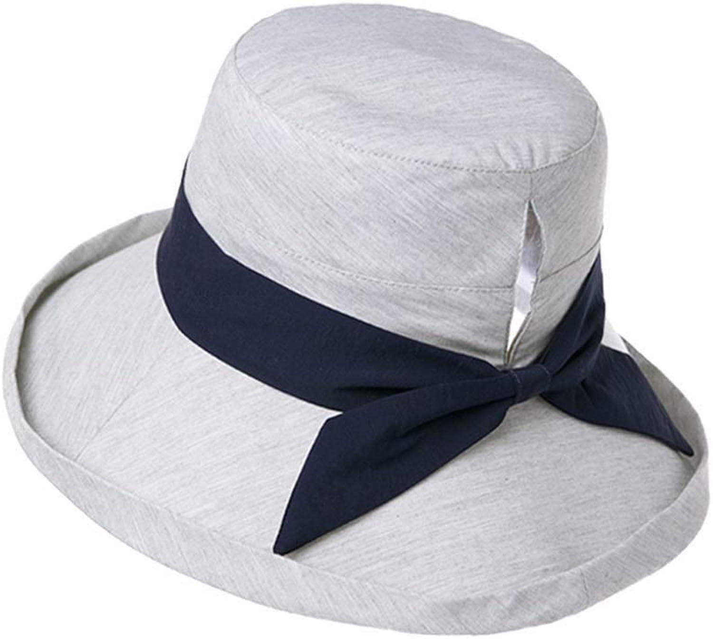 6258dce42b3 Kylinmmz Womens Floppy Summer Beach Sun Hat Foldable Wide Brim 57 ...