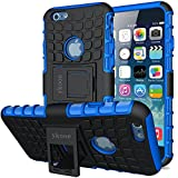 ykooe Cover per Cover iPhone 6, Cove iPhone 6s, Silicone Custodia iPhone 6 Doppio Strato a Ibrida Phone...