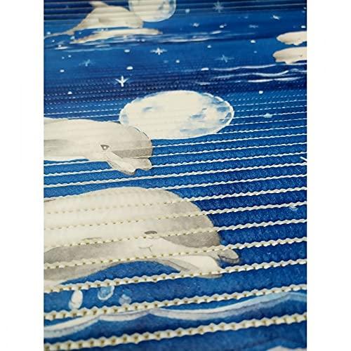Alfombra antideslizante Aquamat 20 cm PVC 65 cm – Delfín