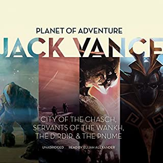Planet of Adventure audiobook cover art