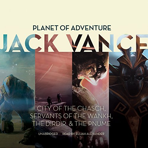 Couverture de Planet of Adventure