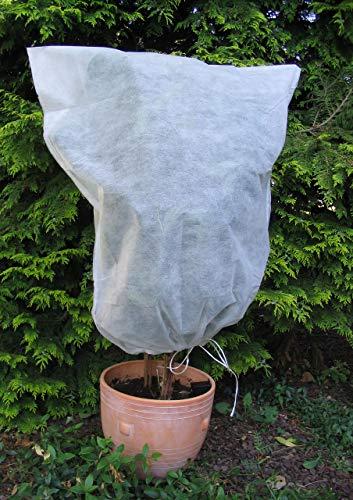 Vilmorin - 5 Housses hivernage 0,8x0,8m en polypropylène 30g/m² - Blanc - Facile dutilistion - protège du Froid Vos végétaux
