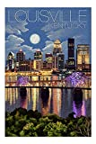 Promini Louisville, Kentucky - Skyline at Night - 1000 Piece Jigsaw Puzzles for Adults Kids, Puzzles for Toddler Children Learning Educational Puzzles Toys for Boys and Girls 20' x 30'
