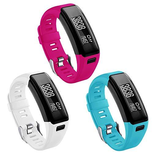 Kmasic Compatible Garmin Vivosmart HR Armband, Sport Wristband Strap Accessories for Garmin Vivosmart HR (No Tracker, NOT Compatible Vivosmart HR+)