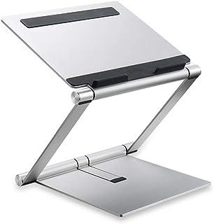 PIAOLING Elevación del Soporte del Ordenador portátil Aleación de Aluminio Soporte de Aumento del Escritorio Radiador Cervical Plegable Base portátil Soporte de elevación