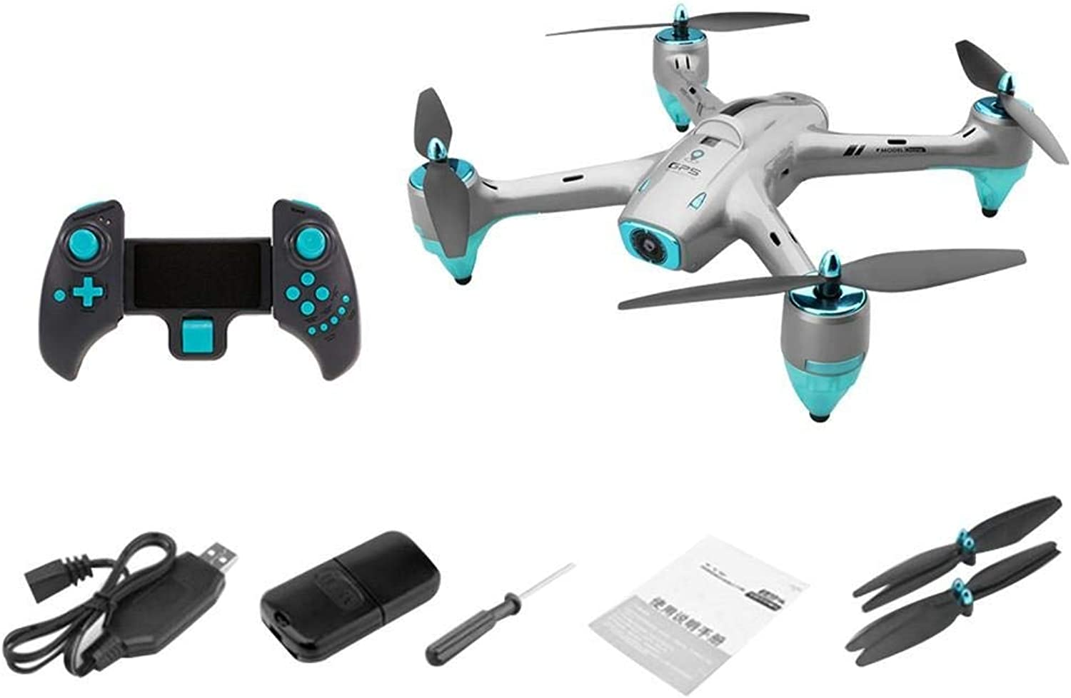 Generic 6957G HD Aerial Photography Drone GPS 5G WiFi Image Transmission 720P WideAngle Lens APP Control RC Drone 1