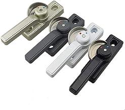 Praktisch Aluminium Window Lock Insurance Crescent Lock Twee-voudig verstelbare Right Push-pull plastic stalen deur Left A...