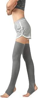 Woman Thigh Knitted Leg Warmers Yoga Socks Boot Cover Leggings Slouch Boot Socks by FIRESOE