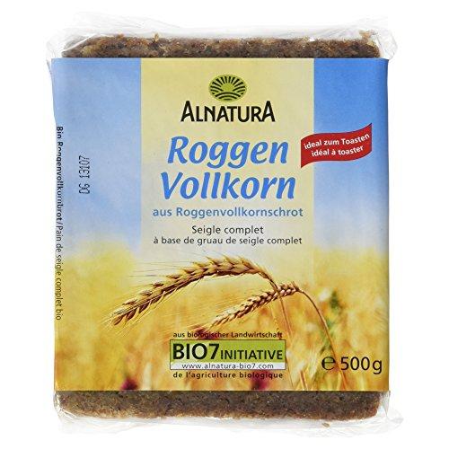 Alnatura Bio Roggenvollkornbrot (1 x 500 g)