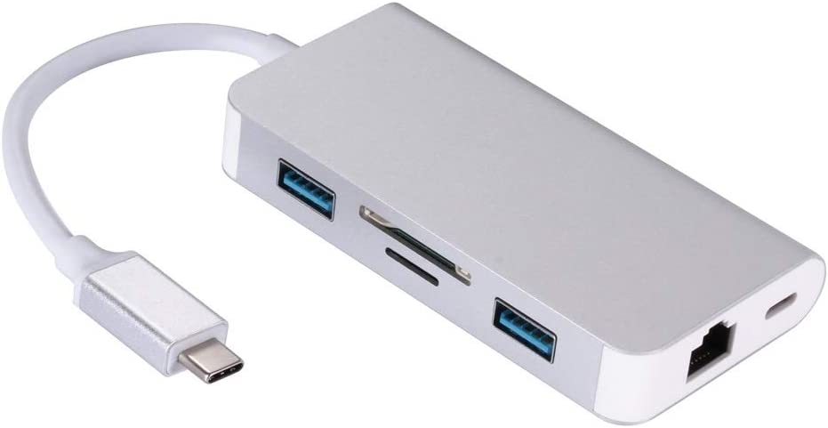 lumaoch Max 49% OFF 6 in 1 USB 3.0 to Excellent Adapter TF SD Laptop Convert RJ45 Card