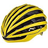 DNACC Casco de Bicicleta Ligero con Circunferencia de La Cabeza Ajustable Tamaño 55-62cm Casco de Bicicleta de MTB con Mosquiteras Casco de Bicicleta Protección de Seguridad Especializada,Amarillo
