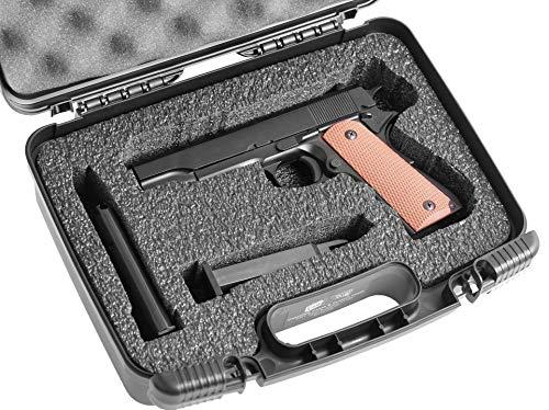 Case Club Pre-Cut Single Pistol Carry Case