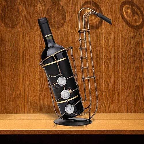 ZHHk Creativo Decoración del Gabinete del Vino Vino Estante del Estante De La Sala De Estar En Casa Retro De Hierro Decorativos Adornos