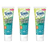 Luxury Beauty & Personal Care! - Tom's of Maine Natural Wicked Cool! Fluoride Toothpaste for Kids, Mild Mint, 5.1 oz. 3-Pack