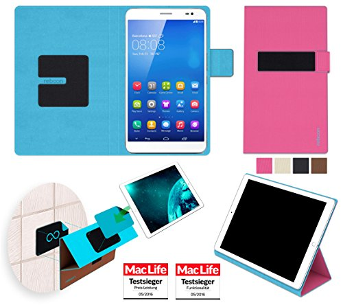 Hülle für Huawei MediaPad X1 7.0 Tasche Cover Hülle Bumper | in Pink | Testsieger