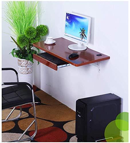 Wandgemonteerde desktopcomputer aan de muur gemonteerde desktopcomputer, thuiskantoor, wandgemonteerde wastafel, wit (kleur: C)