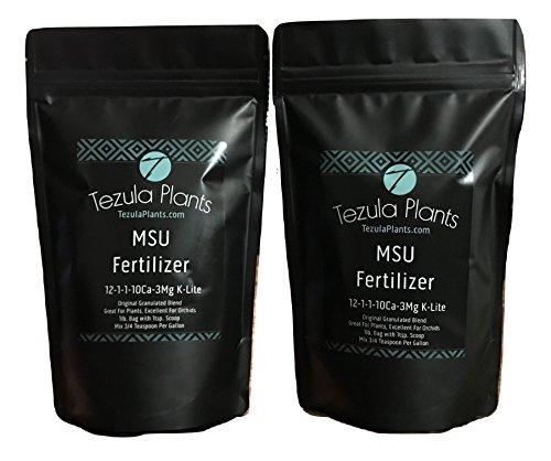 Orchid Fertilizer (MSU) 2lbs. K-Lite (12-1-1-10Ca-3Mg) Excellent for Orchids & Houseplants - Urea Free (Greencare)